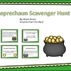 St. Patrick's Day Scavenger Hunt- School