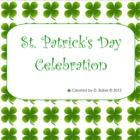 St. Patricks Day Smartboard Activities