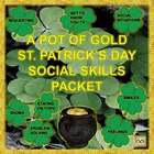 St. Patrick's Day Social Skills Packet