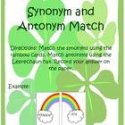 St. Patrick&#039;s Day Synonyms and Antonyms Center