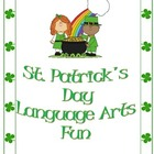 St. Patrick&#039;s Day Themed Langague Arts Packet