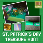 St. Patrick's Day Treasure Hunt - Reinforces Curriculum  a