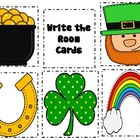 St. Patrick's Day WRITE THE ROOM  March