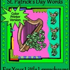 St. Patricks Day Words