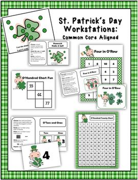 St. Patrick's Day Workstations: Concrete, Representational