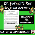 St. Patrick's Day Writing Idea (how to catch a Leprechaun)