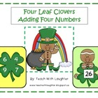 St. Patrick's Four Leaf Clover Adding Four Numbers