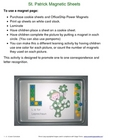 St. Patricks Magnetic Sheets