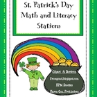 St. Patrick's Math & Literacy Stations
