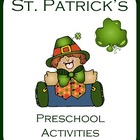 St. Patrick's Preschool Activities