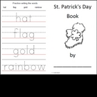 St. Patrick's Preschool Literacy Ideas