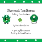 St. Patrick&#039;s Ten Frames Building Teen Numbers
