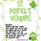 St. Patrick&#039;s Vowels {Long/Short Vowels}