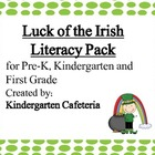 St. Pat's Day Literacy Pack Pre-K, Kindergarten and First Grade