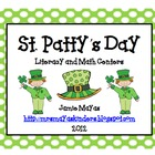 St. Patty&#039;s Day Literacy &amp; Math Centers