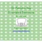 St. Patty&#039;s Day Scrambled Sentences