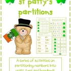 St Patty&#039;s Partitions - Hundreds Tens and Units