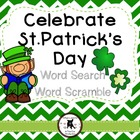 St.Patrick's Day Word Search and Word Scramble