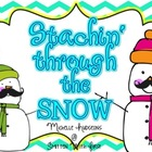 Stachin' through the Snow {16 ELA & Math} + {2 Craftivities}