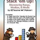 Stack 'Em Up - Range, Median, Mode