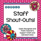 Simple Staff Shout-Outs