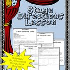 Stage Directions Lesson