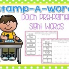 Stamp-A-Word {Pre-Primer Dolch Words}