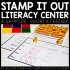Stamp It Out Literacy Center- Short A