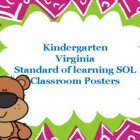 Standard of Learning (SOL) Classroom Posters