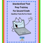 Standardized Test TRAINING--Multiple Choice Spelling Tests