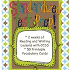 Standardized Test Unit of Study with Vocabulary Study/Task