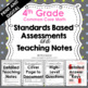 Standards Based Assessment: 4th Grade Math *ALL STANDARDS*
