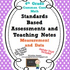 Standards Based Assessment: 4th Grade Math Measurement and