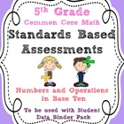 Standards Based Assessment: 5th Grade Math Numbers and Ope