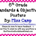 Standards &amp; Objectives Posters