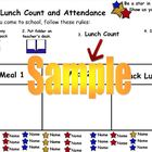 Star Attendance and Lunch Count Activity