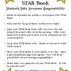 Star Book Binder (Hollywood Theme)