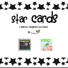 Star Cards: A Classroom Management tool