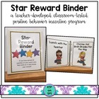 Star Reward Binder (Positive Behavior Incentive Program)