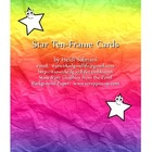 Star Ten-Frame Cards