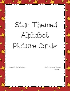 Star Themed Alphabet Cards
