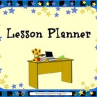 Star Themed Lesson Planner