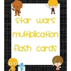 Star Wars Multiplication Flash Cards