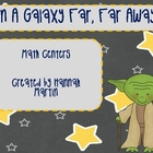 Star Wars Themed Math Centers