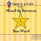 Star Word I Mixed Up Sentence