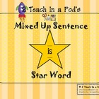 Star Word Is Mixed Up Sentence