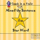 Star Word The Mixed Up Sentence