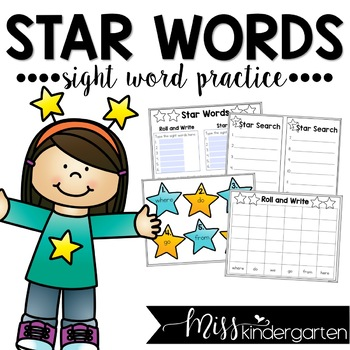 Star Words- Sight Word Practice