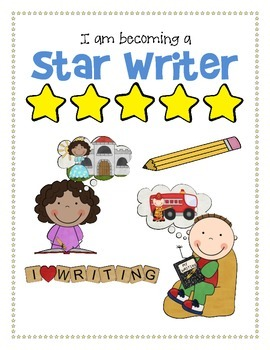 Star Writers - Kindergarten/Beginning Writing Workbook