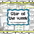 Star of the Week Activity Pack